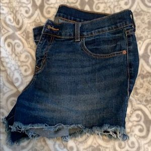Like new size 12 jean shorts